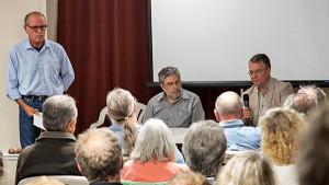Left to right: Tim Colen, Dennis Antenore, Stephen M. Williams